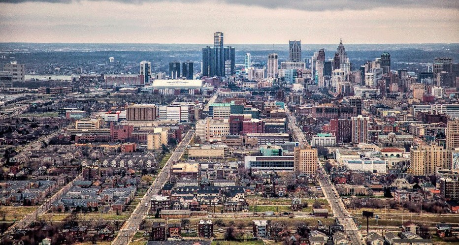 urban landscape - Detroit