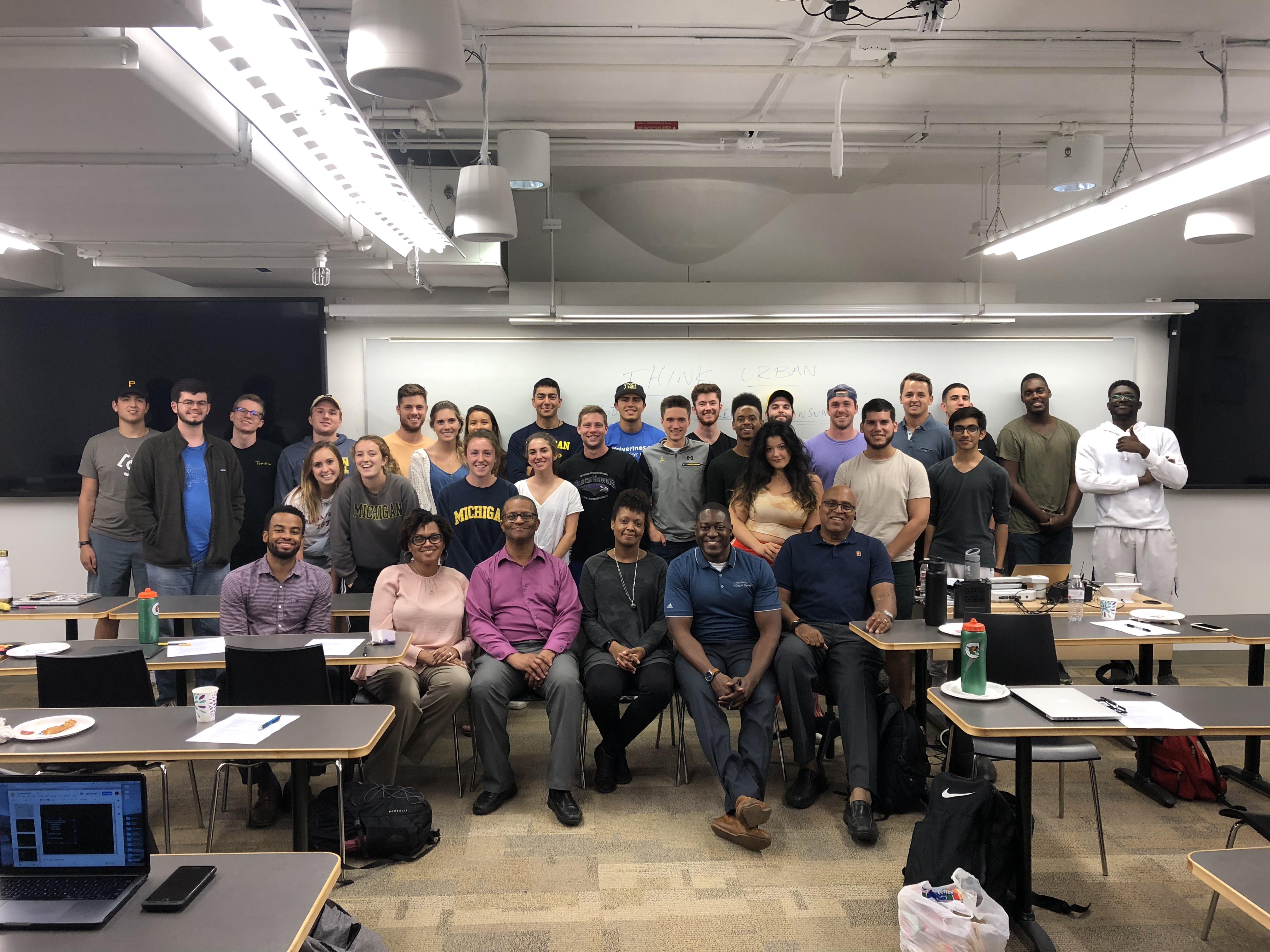 urban entrepreneurship class