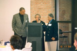 Claudia Louise Tarver speaking