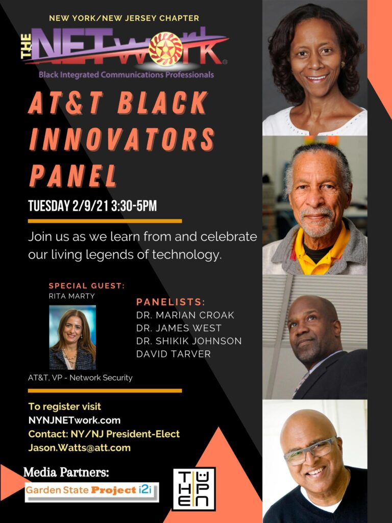 AT&T Black Innovators Panel program flyer